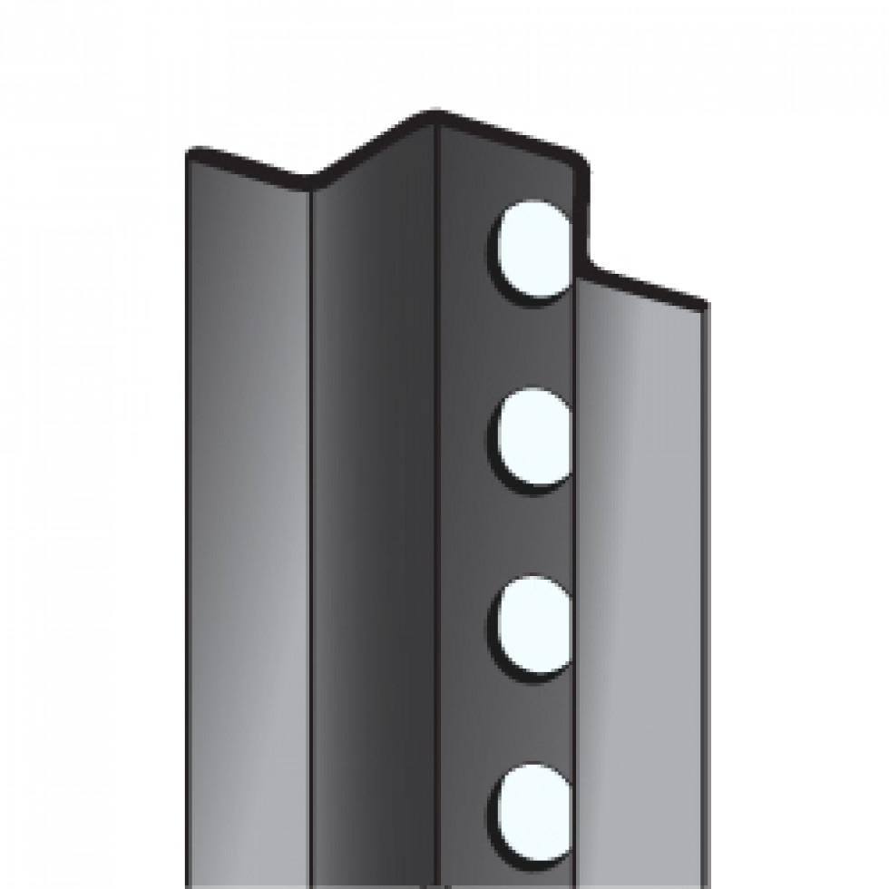 poteau type u 8 pieds galvanis. Black Bedroom Furniture Sets. Home Design Ideas